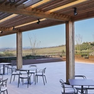Panoramic terrace - Poggio Landi Wine Tasting Tour