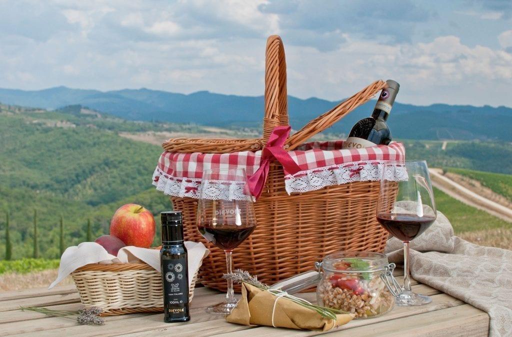 Picnic basket - Tuscany Wine Tours